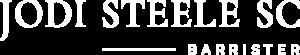 Jodi Steele logo white